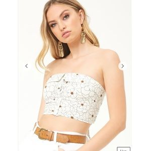 Forever 21 tube crop top
